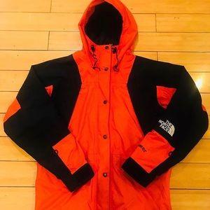 "North face gore tex mountain light jacket ""mango"